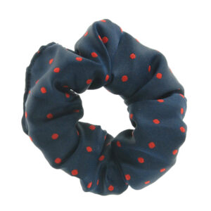showquest-pin-spot-scrunchie-navy-red