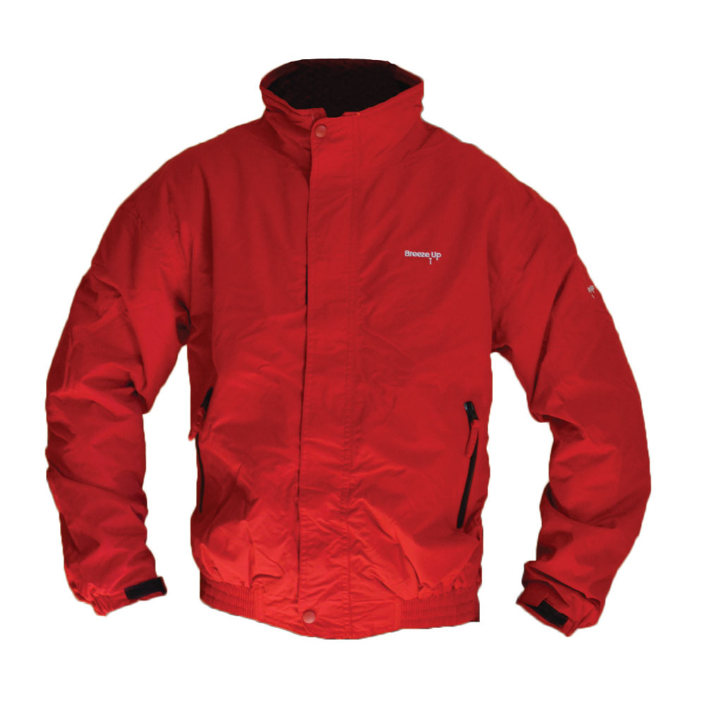 Breeze Up Jacket Red 001