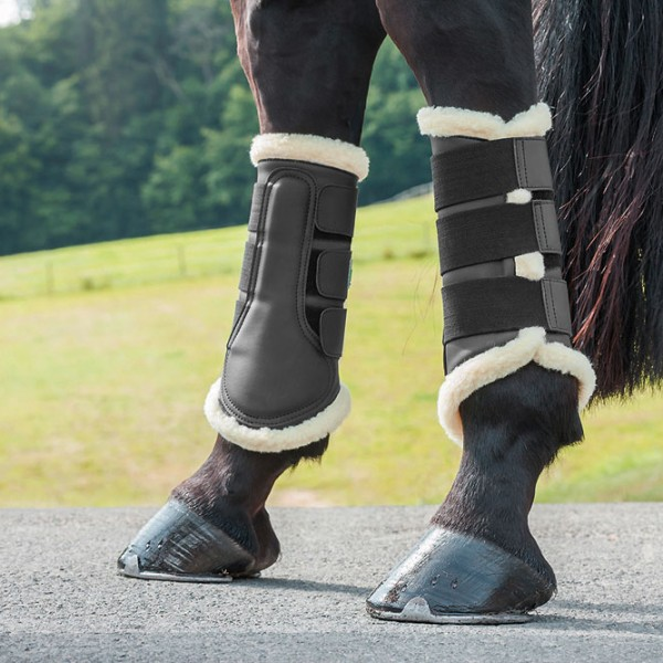Dressage Boots with Sheepskin - Celtic Equine